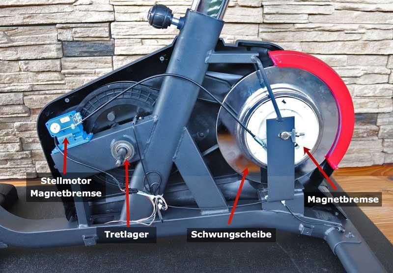 Die Technik des Hammer Cardio Motion BT