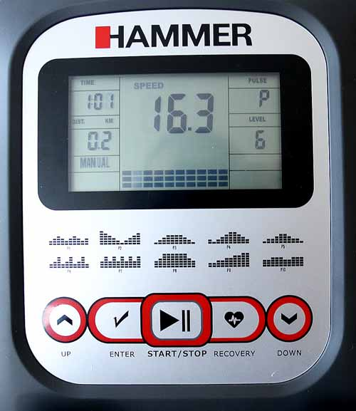 Hammer Clever Fold RC5 Trainingscomputer