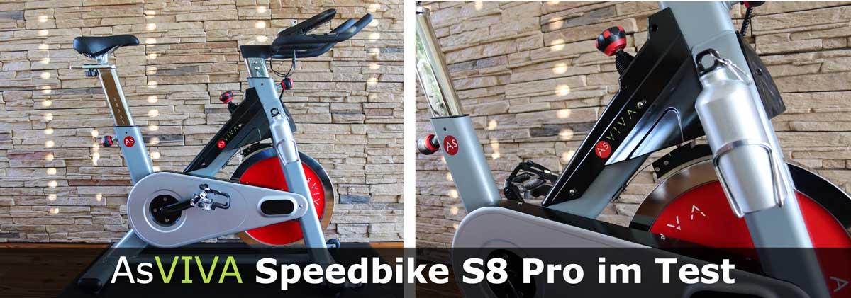 Asviva Speedbike S8 Pro im Praxistetst