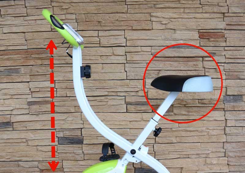 Ultrasport F-Bike 150 Heimtrainer mit Comfort