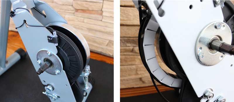 Ultrasport F-Bike Schwungscheibe und Magnetbremse