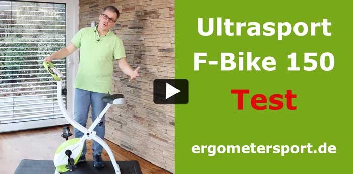Das Bild verlinkt auf das Ultrasport F-Bike 150 Youtubevideo