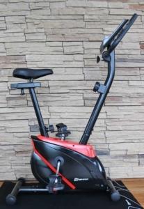 Das Bild zeigt das Trimmrad Hop-Sport HS-2070 in rot-schwarz