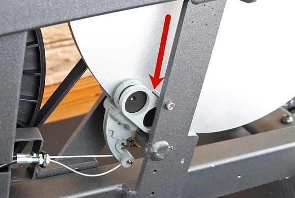 Das Bild zeigt die Magnetbremse des Asviva S17