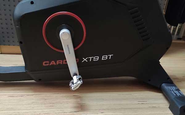 Hammer Ergometer XT9 Umbau mit Fahrradkurbeln