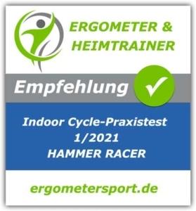 Hammer Racer Empfehlungssiegel