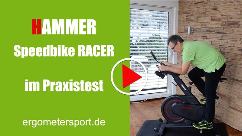 Zum Youtube Video des Hammer Racer Spinning Bikes
