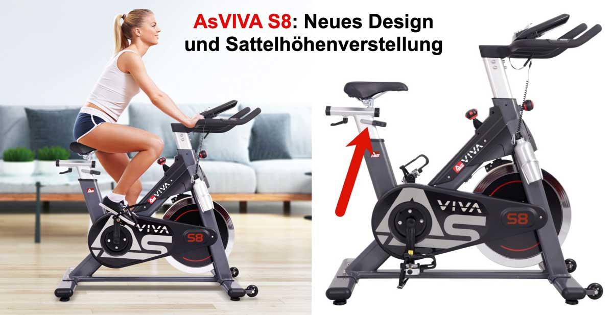 Asviva S8 in neuem Design
