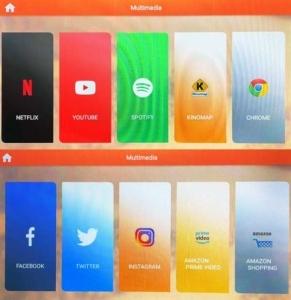 Das Bild zeigt die installierten Apps des Asviva S17