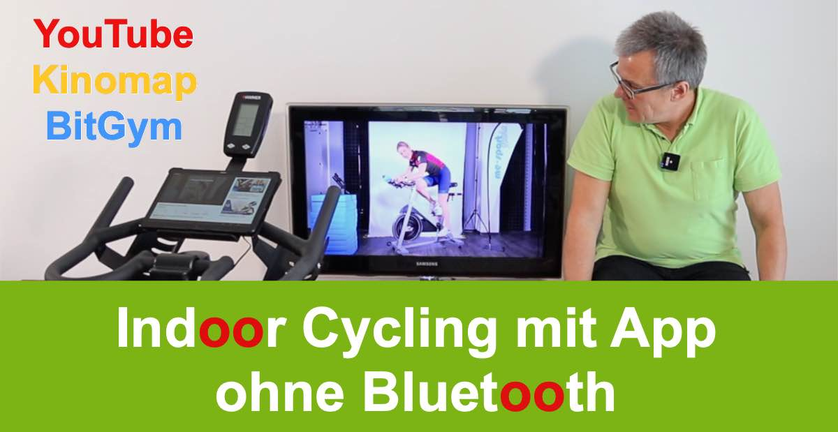 Indoor Cycling mit App ohne Bluetooth