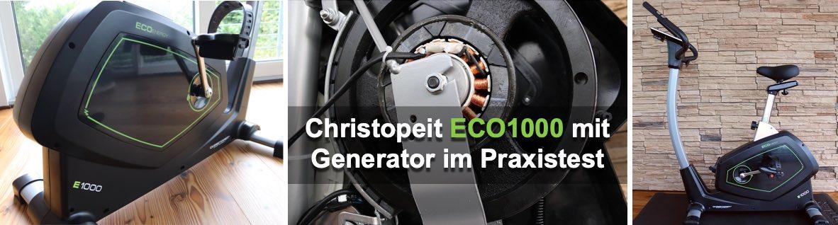 Christopeit Ergometer ECO 1000